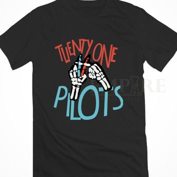 Twenty One Pilots Logo Unisex/Men Tshirt All Size