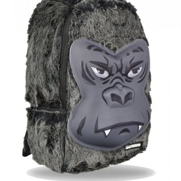 SPRAYGROUNDGORILLA FUR DELUXE BACKPACK