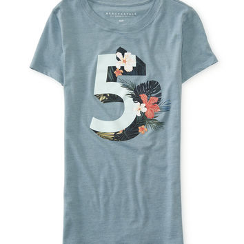 Floral 5 Graphic T