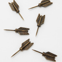 Archer Pushpin - Set Of Six