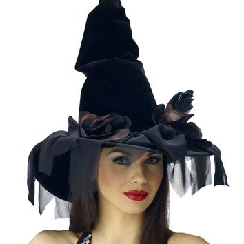 Costume Accessory: Witch Hat Deluxe Winding - 1 Units