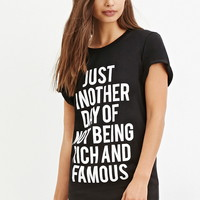Local Heroes Rich and Famous Tee | FOREVER 21 - 2000141746