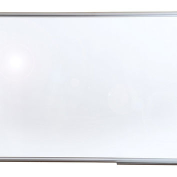 """Viztex Porcelain Magnetic Dry Erase Board with an Aluminium frame  (36""""x24"""")"""