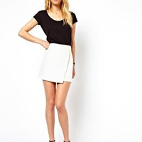 ASOS Mini Skirt with Wrap Detail