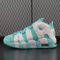 Nike Air More Uptempo 415082-300 For Women Men Running Sport Casual Shoes Sneakers Blue