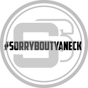 #SORRYBOUTYANECK banner
