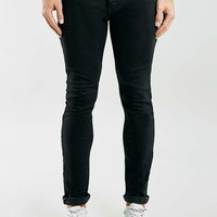 Raw Black Stretch Skinny Selvedge Jeans - Stretch Skinny Jeans - Clothing