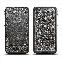 The Small Dark Pebbles Apple iPhone 6/6s LifeProof Fre Case Skin Set