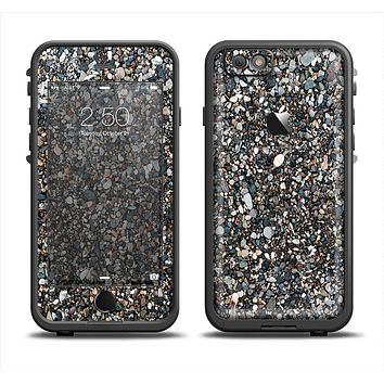 The Small Dark Pebbles Apple iPhone 6 LifeProof Fre Case Skin Set