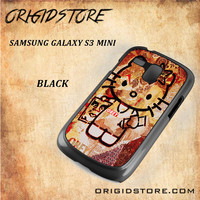 Obey Hello Kitty For Samsung Galaxy S3 Mini Snap On and 3D Case