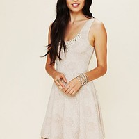 Free People Rock Princess Fit and Flare Dress