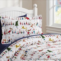 Dr. Seuss's The Grinch™ Flannel Duvet Cover