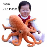 JESONN  Realistic  Stuffed  Marine  Animals  Octopus