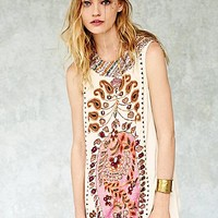 Free People Womens FP New Romantics Gujakat Goddess Dress