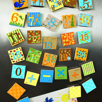Kids Animal Number Magnets Learn Your 123's MG0003