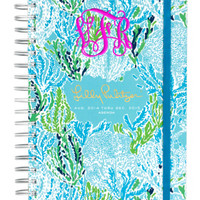 """PREORDER: Lilly Pulitzer Large Agenda """"Let's Cha Cha"""" 2014/2014"""