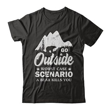 Go Outside Worst Case Scenario A Bear Kills You Hiking Camping