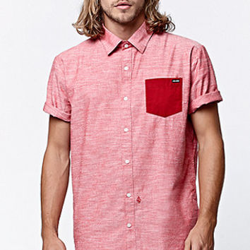 Volcom Flatt Short Sleeve Button Up Shirt at PacSun.com