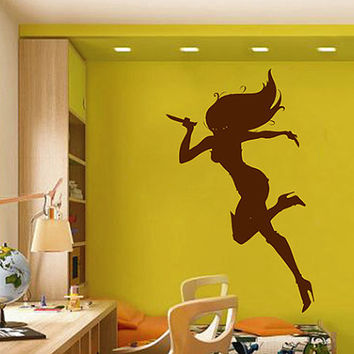 kсik2257 Wall Decal Sticker cartoon killer girl beautiful living room children's bedroom