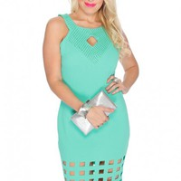 Clothing Dress Seafoam