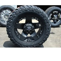 20x10 XD 775 Rockstar Wheels Matte Black w/ Federal MT 35x12.50R20 Tires