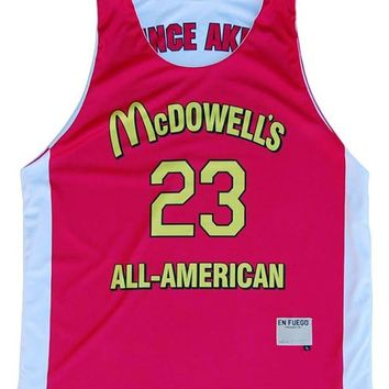 McDowell's All-American Sublimated Basketball Reversible
