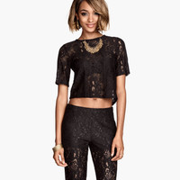 H&M Short Lace Top $34.95