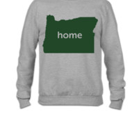 oregon home  - Crewneck Sweatshirt
