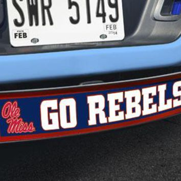 """Mississippi - Ole Miss Go Rebels Light Up Hitch Cover 21""""x9.5""""x4"""""""