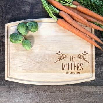 Your Name Cutting Board. Personalized Cutting Board. Bridal Shower Gift. Custom Cutting Board. Mother's Day Gift #15