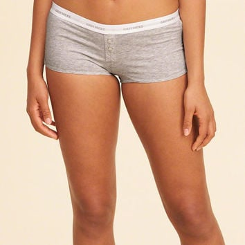 Girls Knit Shortie Short | Girls Gilly Hicks | HollisterCo.com