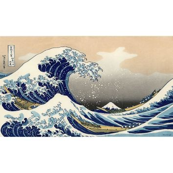 CMYK Print 2MM Thick Table Pad MGT great wave playmat HD Image MGT Board Games board Game Cards Playmat the gathering