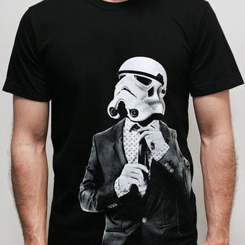 Smarttrooper - Mens t shirt / Unisex t shirt - 2XL, 3XL( Star Wars / Stormtrooper t shirt )