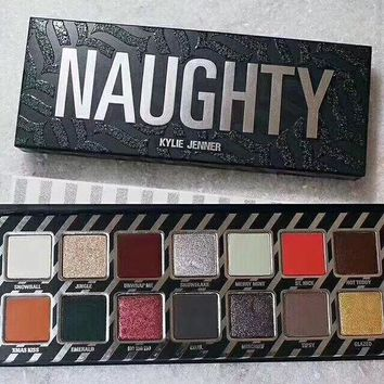 ICIKJ6E Beauty Naughty Nice Kylie Jenner Make-up Professional Stylish Eye Shadow Make-up Palette [125464182799]