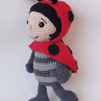 Dotty the Ladybug - Amigurumi Crochet Pattern
