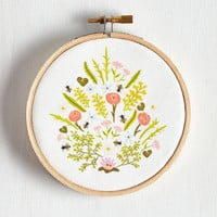 Handmade & DIY Sprout of Necessity Hoop Art by ModCloth