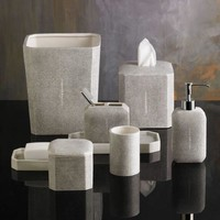 Shagreen Bath Accessories by Kassatex