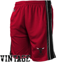 Chicago Bulls Majestic Youth Team Logo Basketball Shorts - Red - http://www.shareasale.com/m-pr.cfm?merchantID=7124&userID=1042934&productID=528441795 / Chicago Bulls