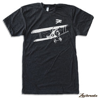 Mens Vintage PLANES t shirt american apparel S M L XL (17 colors available)