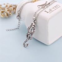 Harry Potter Horcrux snake necklace