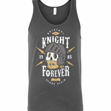 Knight Forever Unisex Tank Top