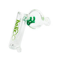 3-in-1 Glass Helix Multi Pipe by Grav Labs - Bubbler, Spoon, and One-Hitter