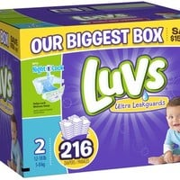 Luvs Ultra Leakguards Diapers - Free Shipping