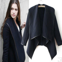 Fashion style wool coat windbreaker jacket OP0108CB