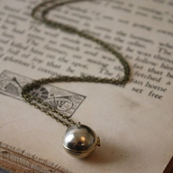 ON SALE Ball Locket