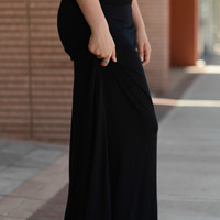 Magnificent Maxi Skirt Black