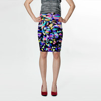 Geometric No.17 by House of Jennifer (Fitted Skirt)