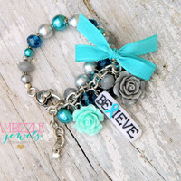 ptsd awareness bracelet, PTSD jewelry, not all wounds are visible, PTSD charms