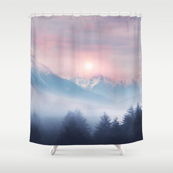 Pastel vibes 11 Shower Curtain by vivianagonzalez