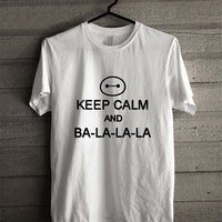 Keep Calm And Ba La La La Baymax Big Hero Six 9412 Shirt For Man And Woman / Tshirt / Custom Shirt